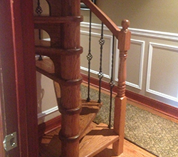 Usually, One Of The First Things That Visitors Would Notice About Your  House Is The Staircase. Wooden Spiral Staircases Are Functional And A  Classical ...